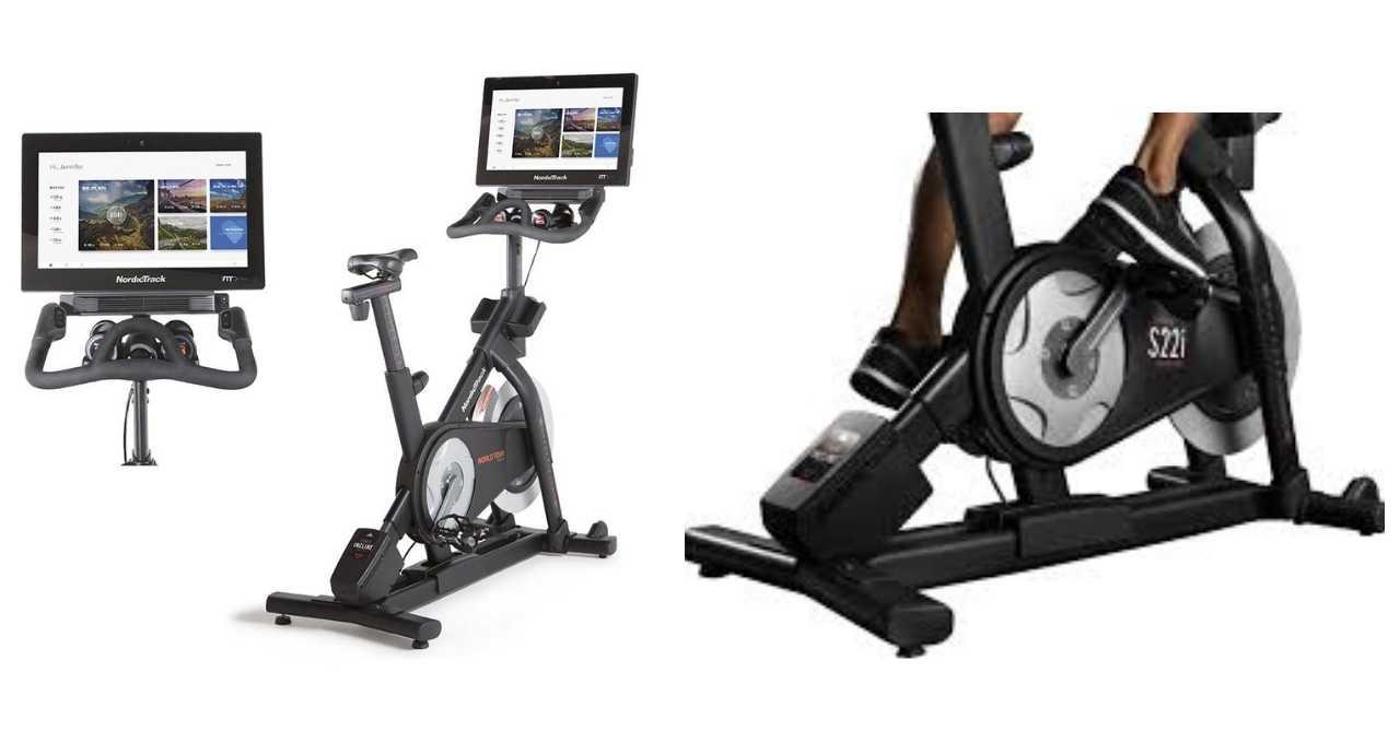 Image: NordicTrack S22i indoor cycle