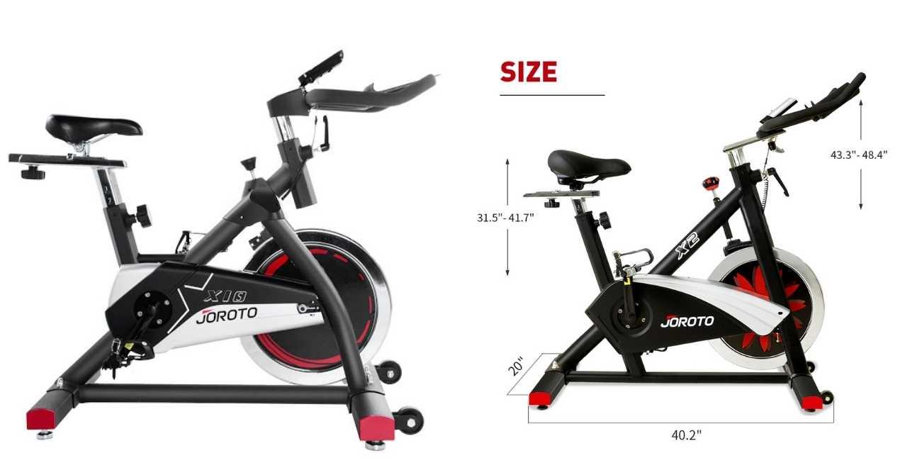 joroto indoor cycles comparison