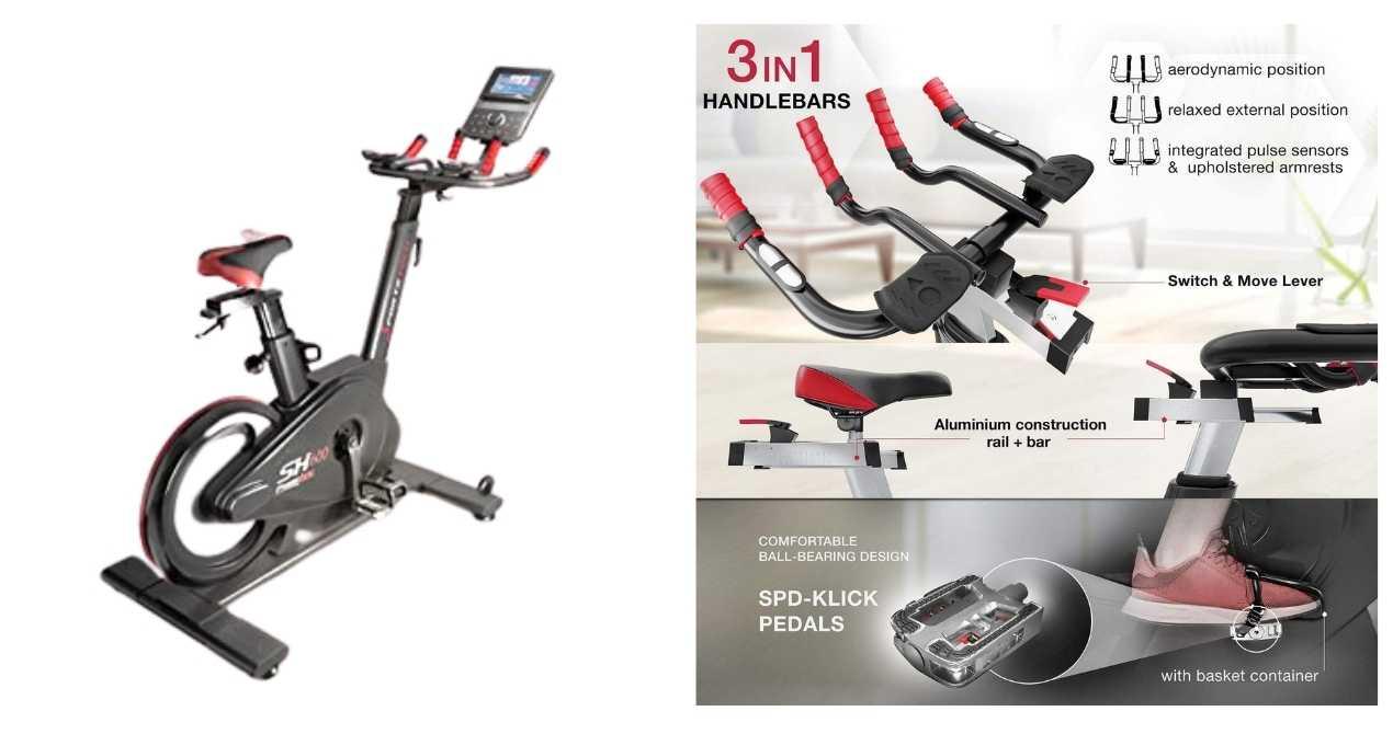 Sportstech sx600 elite spin bike