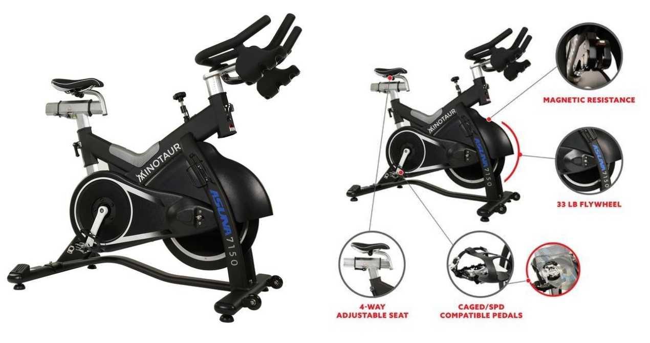 Sunny Health & Fitness Asuna 7150 Minotaur Spin Bike