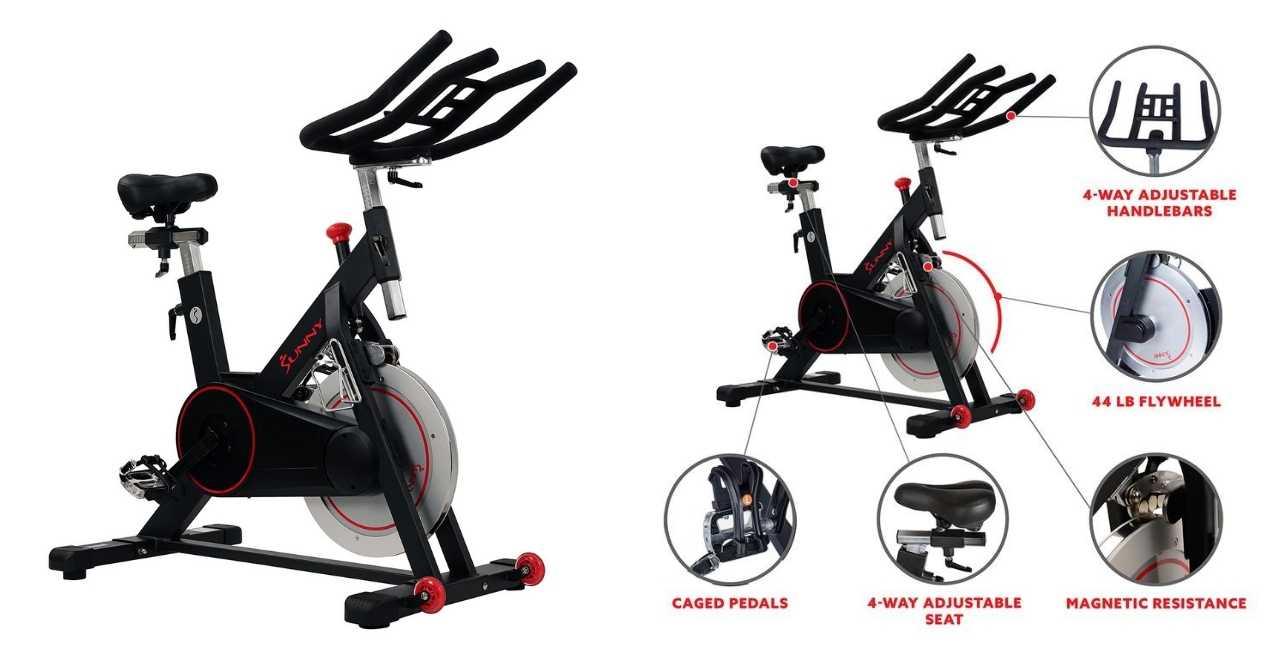 Sunny Health & Fitness SF B-1805 Spin Bike