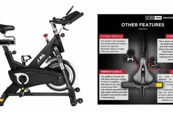 Image: JLL IC350 PRO indoor bike review