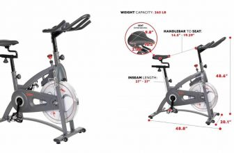 Image: Sunny Health and Fitness SF-B1877 indoor cycle review