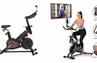 Image: Women's Health Men's Health Eclipse Bluetooth spin bike review
